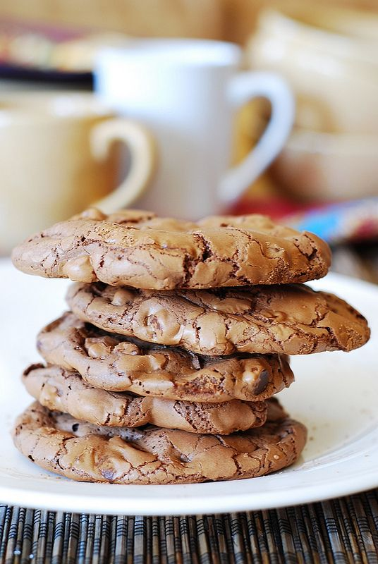 Outrageous chocolate cookies   Recipe   Chocolate cakes, Shells and ...