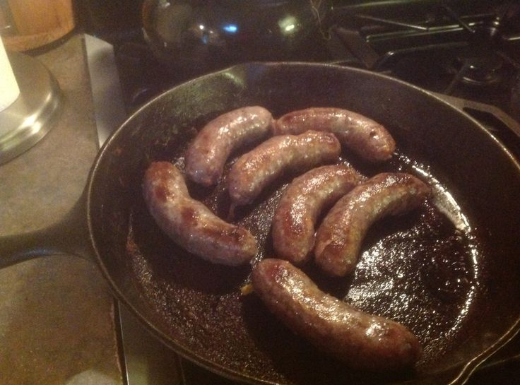 how to cook bratwurst sausage on the stove