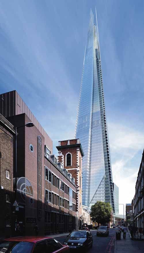 The Shard (London Bridge Tower), London, England, 2013   Renzo Piano