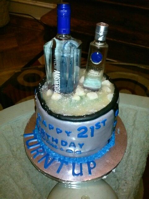 Ciroc And Amsterdam Birthday Cake Sweet Sinsayshunz