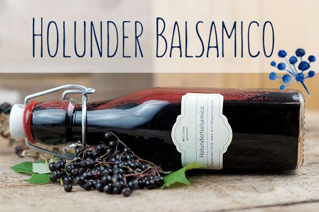 Holunderbalsamico selber machen ist gar nicht schwer und es lohnt sich, da er perfekt zu herbstlichen Salaten passt und ein Geschmackserlebnis bietet.