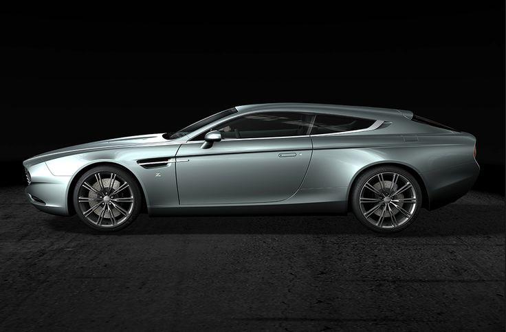 A l'occasion du concours d'élégance de Chantilly, s'étant déroulé le week end dernier, le carrossier Zagato a dévoilé une version unique de l'Aston Martin Virage. http://journalduluxe.fr/aston-martin-virage-shooting-brake/