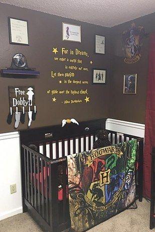 Cette chambre de bébé «Harry Potter» est tout à fait merveilleuse