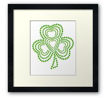 Impression encadrée https://www.redbubble.com/fr/people/weetee/works/25558183-st-patricks-day?asc=t&p=womens-fitted-scoop @redbubble #StPatricksDay #stpatricksdayparade #party #day #irland #usa #green #europ #flower #tree #leather #france