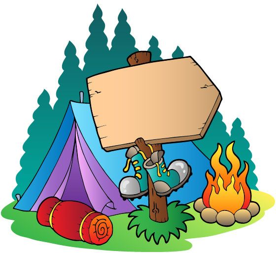 Family Camping Free Clipart