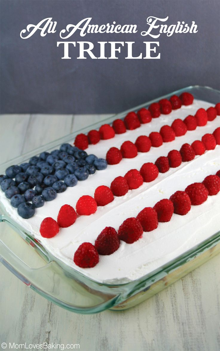 All American English Trifle Pound Cake