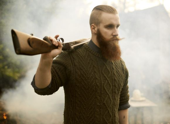 JAMIE WITH ANTIQUE SHOTGUN BY WHITECLOUDPHOTOGRAPHIC