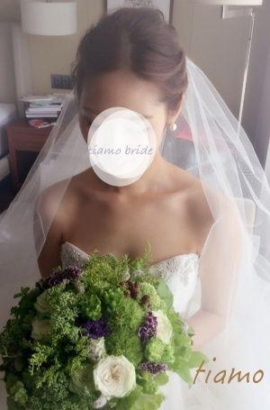 ドレスから色打掛へとチェンジ♡お洒落花嫁さまの素敵な1日 |大人可愛いブライダルヘアメイク『tiamo』の結婚カタログ