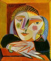 Pablo Picasso. Woman at the window (Marie-Therese), 1936