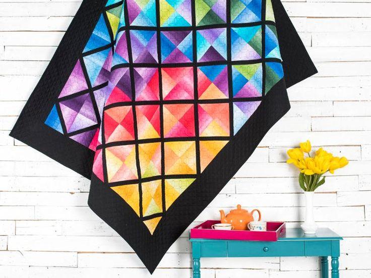 Color Block Quilt KIT