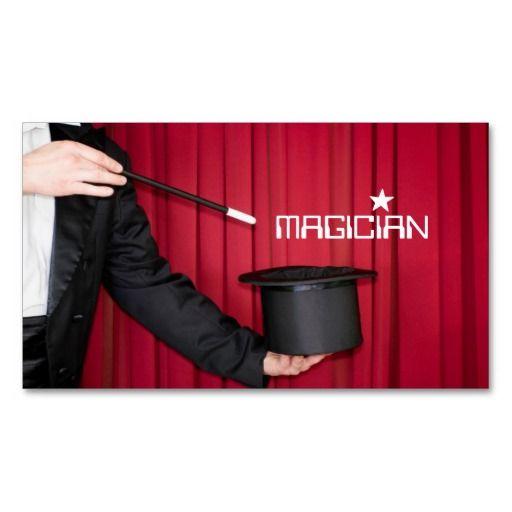 197 best images about magician business cards on pinterest. Black Bedroom Furniture Sets. Home Design Ideas