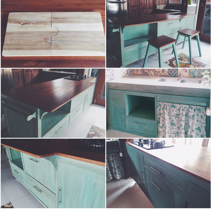 The whole look of the kitchen set for Rumah Cipayung  #HandyBunny #Earthmade #Handmade
