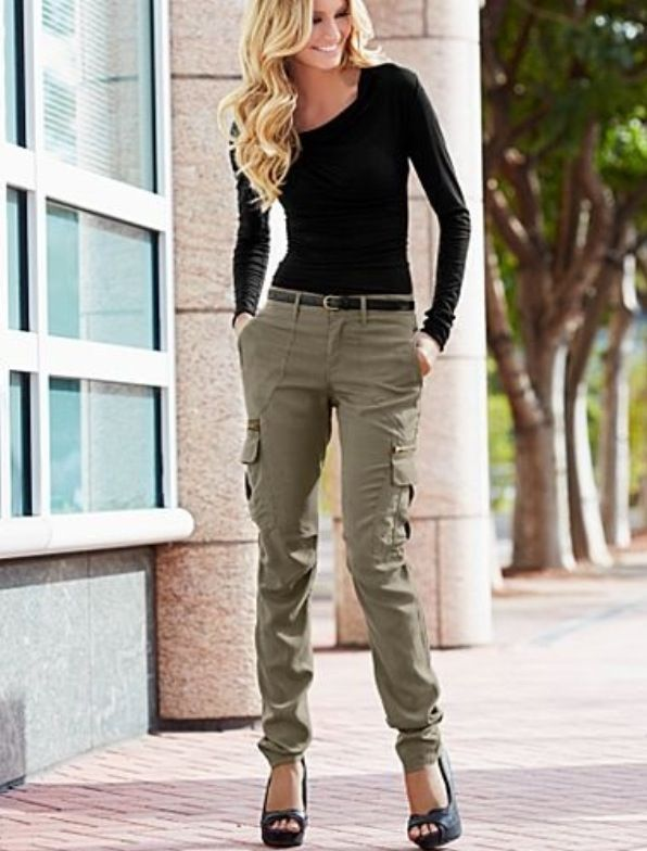 17 best ideas about Cargo Pants Women on Pinterest | Skinny cargo ...