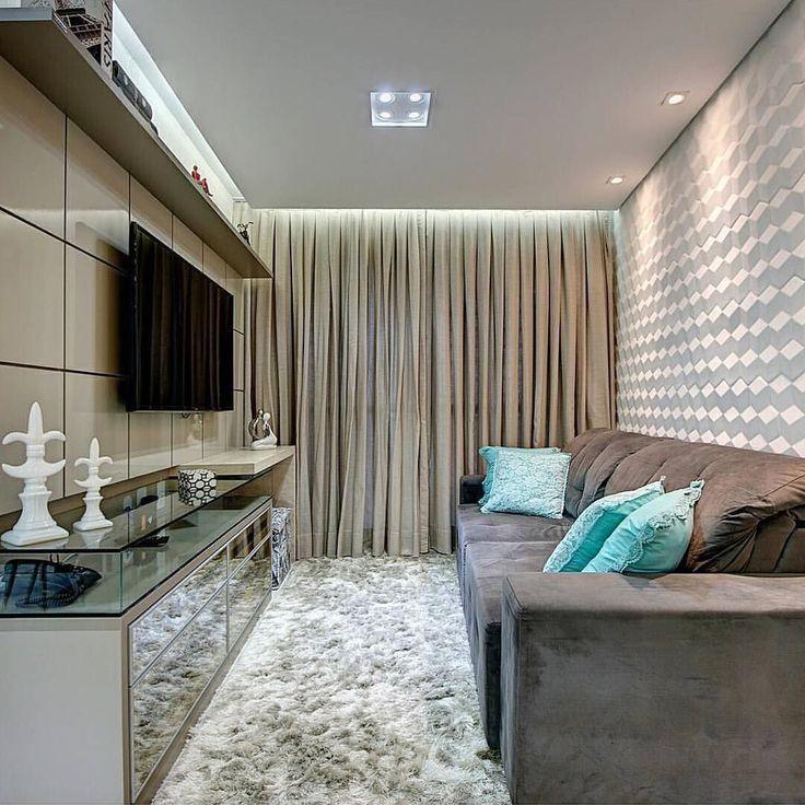 25 melhores ideias de salas pequenas no pinterest sala for Sala de estar kawaii