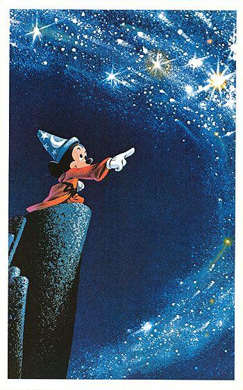 What great history Disney has...FANTASIA ~ 1940