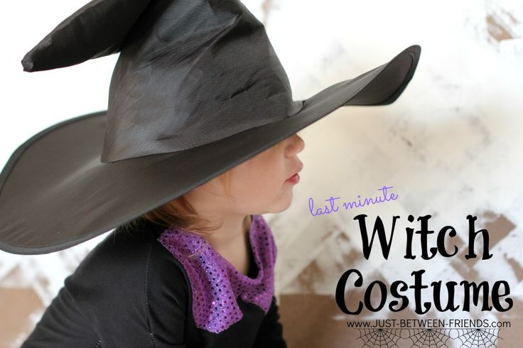 Just Between Friends: Toddler Witch Costume | Last Minute!
