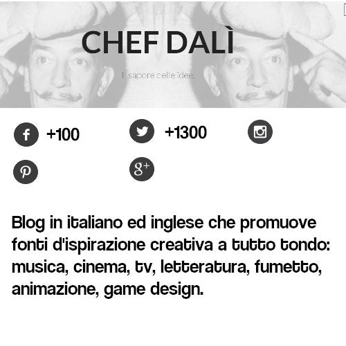 Chef Dalì on Behance