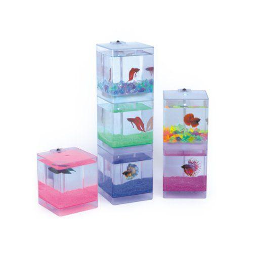 Santas tools and toys workshop pet products aqua cube for Toy fish tank