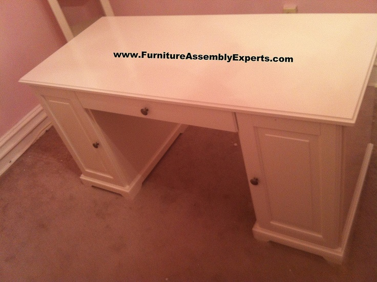 Ikea Hemnes Desk Assembled In Loudoun County Va By Furniture Assembly Experts LLC