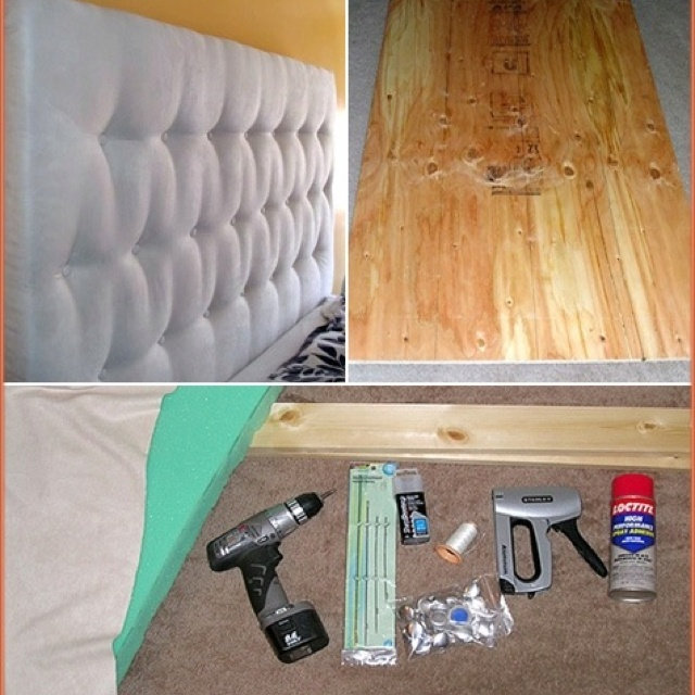 Make your own headboard stuff i 39 m gonna make rather than How to make your own headboard