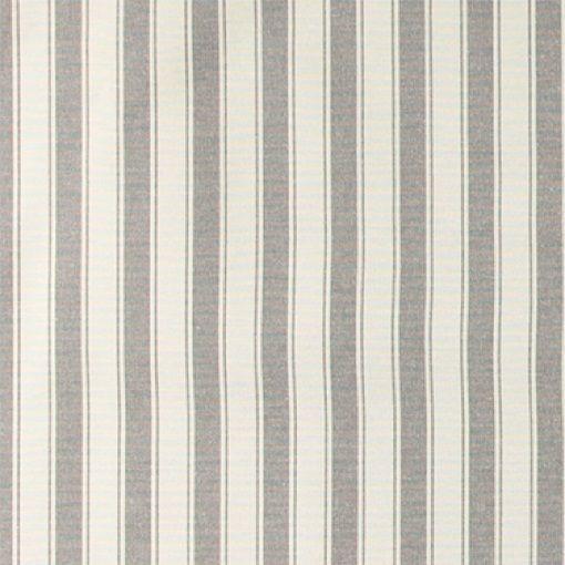 Garnfarget grå bred stripet