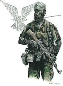 Selous Scouts, Rhodesia - pin by Paolo Marzioli