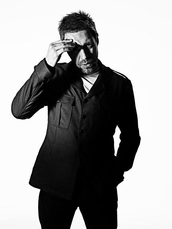 Paddy Considine Portrait Editorial Industria Magazine