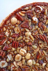 Scrumpdillyicious: Monkey Room Nut Tart: A Thanksgiving Treat