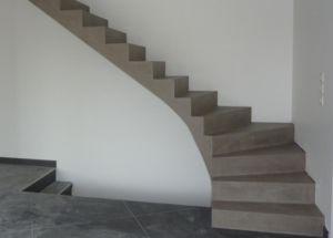 Escalier en béton ciré Plus