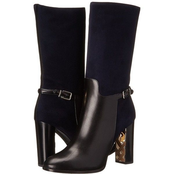 Burberry Marling Women's Boots ($1,395) found on Polyvore featuring shoes,  boots, black