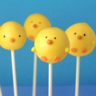 Duck cake pops @A. V. @Cheryl Terreri