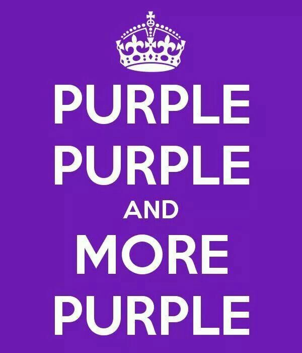 Purple!! oh my we got that right !! purple everywhere ...!!! just for you ....oooooo : c )