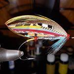 Silver Doctor tied on a 5/0 hook #flugbindning #salmonflies #laxfiske #laxflugor #classicsalmonflies  #semperfliflytying #danishflyfestival