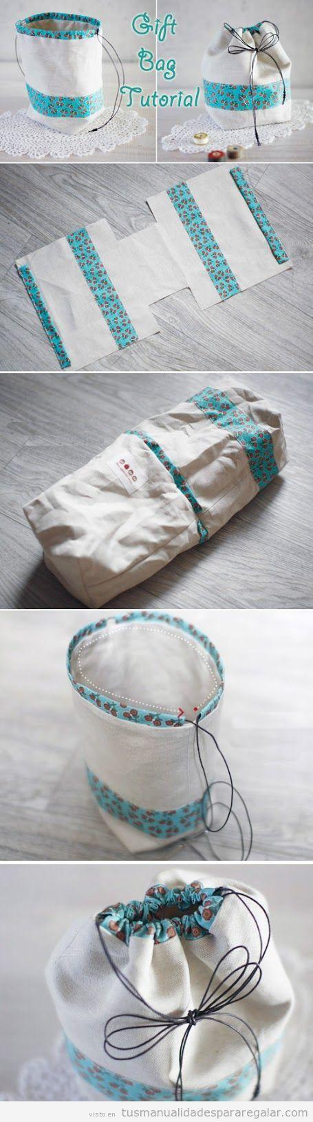 Original Bolsa de regalo / http://tusmanualidadespararegalar.com/