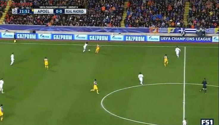 APOEL 0 - 1  Real Madrid 21/11/2017 Luka Modric Super Goal 23' Champions League HD Full Screen .