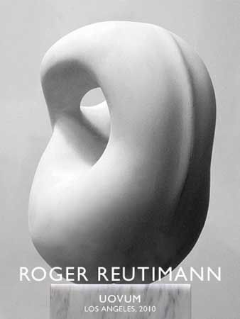 Fantastische vorm. Sculptor: Roger Reutimann - sculpture: Uovum - Sculpture.org - Sculpture.org