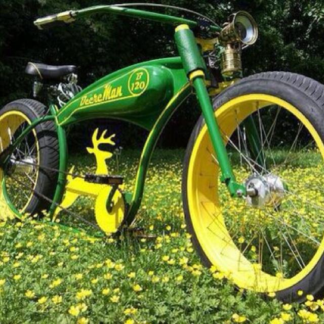 Tractor Seat For Bike : John deere bike ammo and hunting decor pinterest