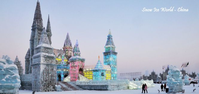 Harbin Snow Festival 10H/08M || Price : 22, 29 Dec 2013, 05 Jan 2014 $1667 || Where to go: Dalian , Shenyang , Changchun , Jilin , Harbin