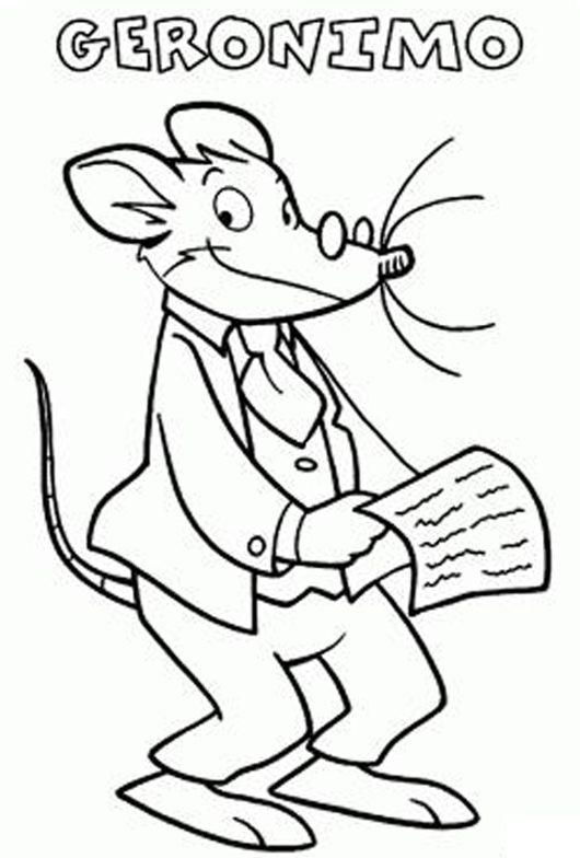 86 best images about geronimo stilton on pinterest for Geronimo stilton coloring pages free