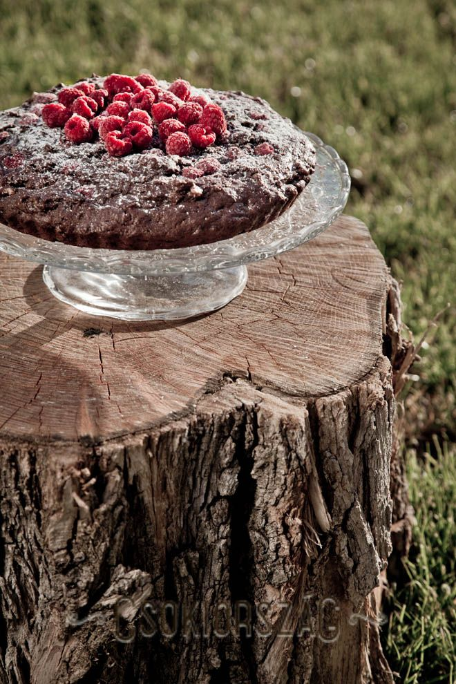csokiország.hu: Málnás brownie