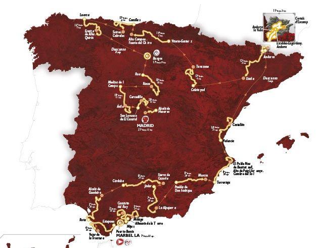 Sabato parte da Puerto Banús la 70esima edizione della #Vuelta di Spagna, che si concluderà a Madrid domenica 13 settembre. Ecco il calendario delle tappe, le altimetrie, i favoriti e gli orari tv http://www.mondociclismo.com/ciclismo-vuelta-2015-calendario-tappe-altimetrie-favoriti-e-orari-tv20150820.htm #ciclismo #Vuelta2015 #Mondociclismo #Aru #Nibali #Froome #Rodriguez #Quintana