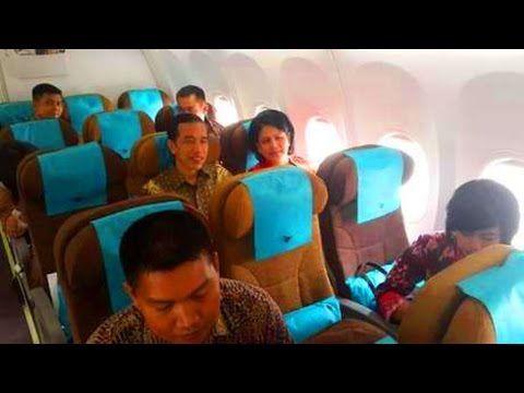 Hebatnya Presiden Jokowi Naik Pesawat Ekonomi Hadiri Wisuda Kaesang Di S...