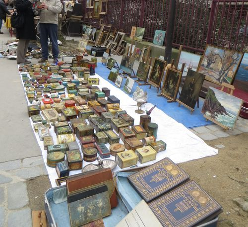 Parisians will tell you that the Puces de Vanves is of the old spirit, and is their favorite flea market.