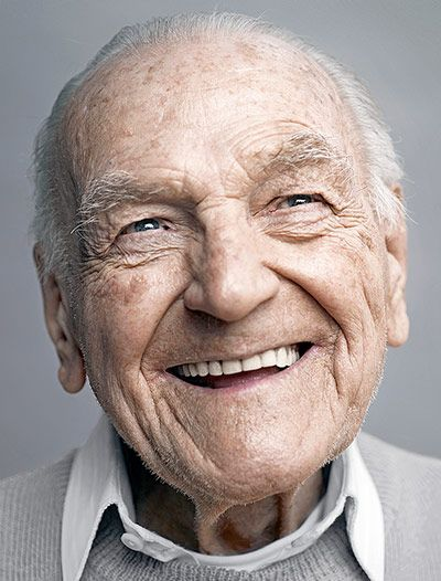Erwin Häuseler  Happy at 100: There are now more than 12,640 centenarians in the UK, a nearly 10-fold increase from 1970. If this trend continues, there will be more than 160,000 by 2040. Photograph: Karsten Thormaehlen