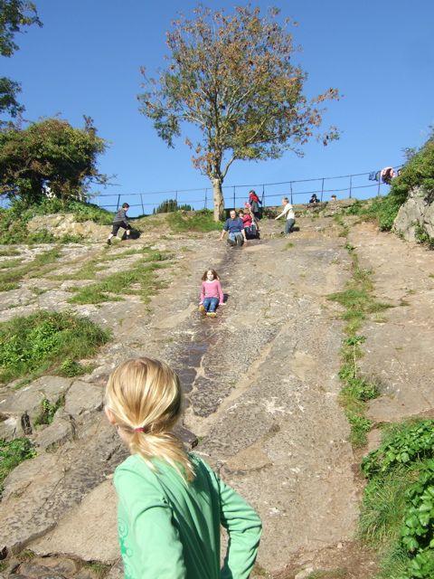 clifton rock slide