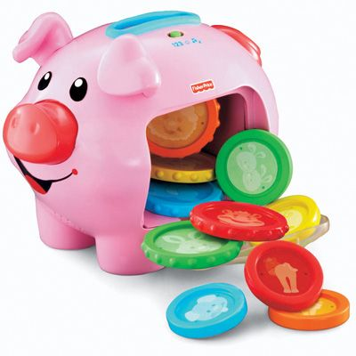 Fisher-Price Laugh and Learn Piggy Bank: Learning Piggy, Ideas, Gift, Toys, Piggy Banks, Baby, Learn Piggy