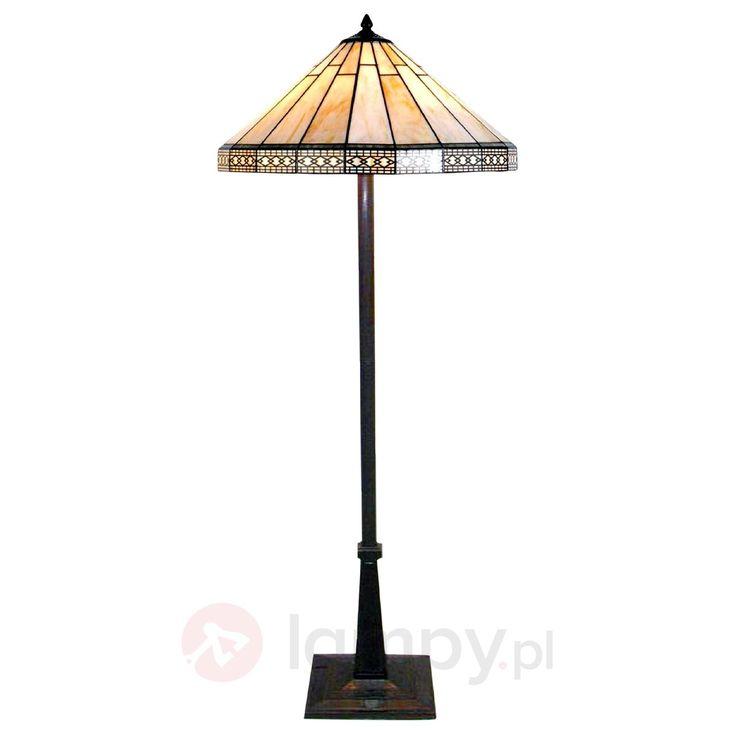 Lampa stojąca Bradley w stylistyce Tiffany 6064064