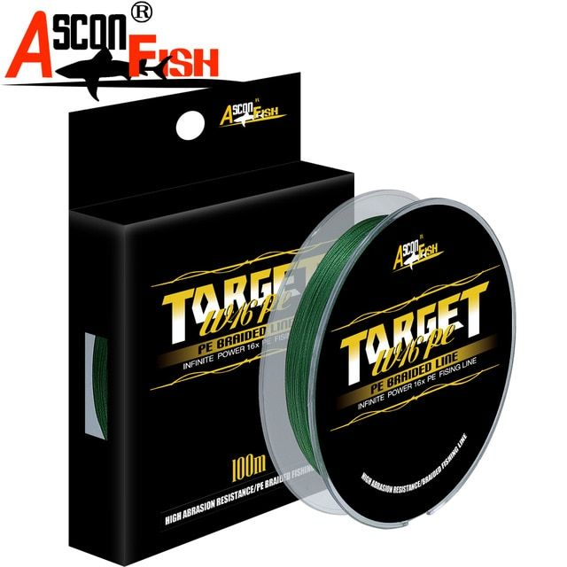 100m Braided fishing lines 4 strands Super Strong Japan Multifilament PE Fish