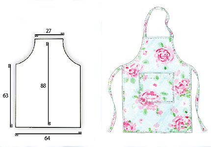 easy sew patterns. Just follow the given measurements.