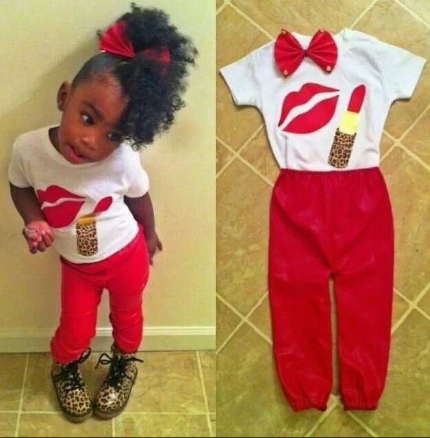 Summer Kids Baby Girls Outfits Short Sleeve Graphic T Shirt Pants